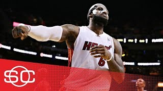 [Archives] When LeBron James scored 61 points on the Charlotte Bobcats in 2014   SportsCenter   ESPN