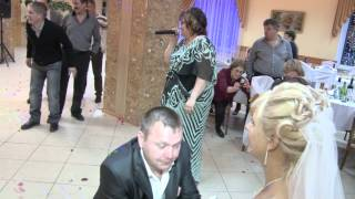 Свадьба Ольги и Дмитрия (подвязка)
