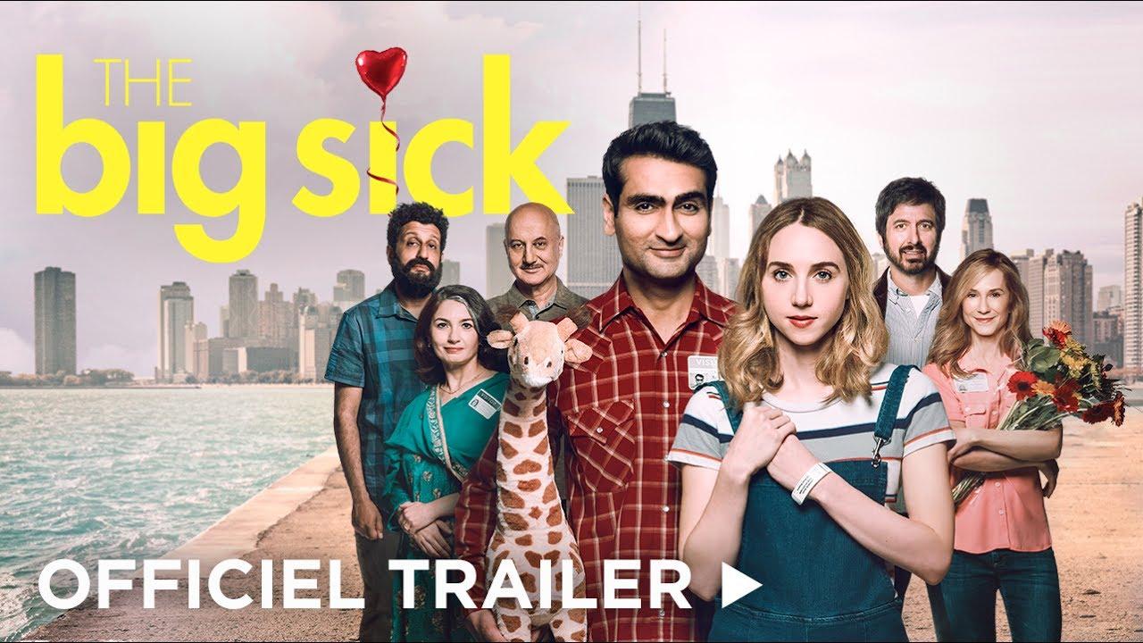 THE BIG SICK - Nu på DVD, Blu-ray og Digitalt