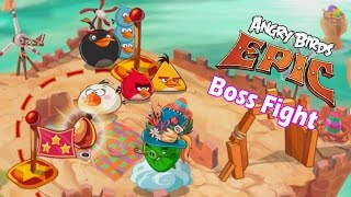 Angry Birds Epic: Final Boss Battle (Easter Wizpig) Level-20 Gameplay The Golden Easter Egg Hunt