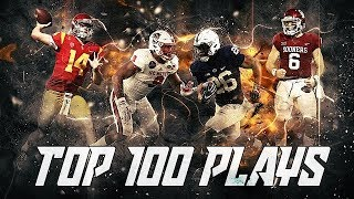 Top 100 Plays of the 2017-2018 College Football Season thumbnail