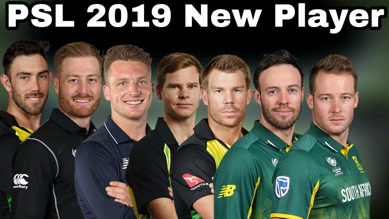 Pakistan Super League 2019-Top 10 Player Joint Psl Season 4