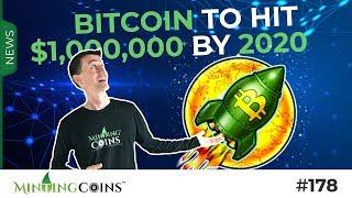 #178 Bitcoin vs. Gov't Control + BTC to $1MM by 2020