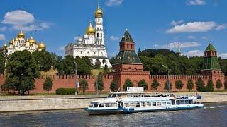 С песней Modern Talking, прогулка по Москве - реке, июль 2018 г.