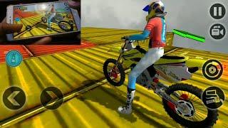 Impossible motor bike tracks new motor bike : moto cross gameplay FHD