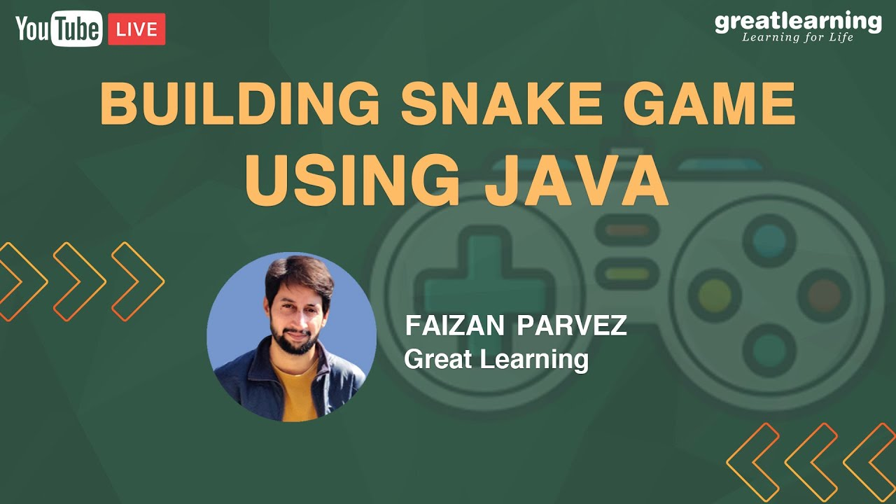 How To Develop A Snake Game In Java | Java Game Coding | Java Games