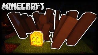Minecraft: How to Make Working Creepy Halloween Plants!