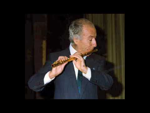 Mozart Concerto per flauto n.1 K 313 - Gazzelloni - Maag - Rai Roma (1977)