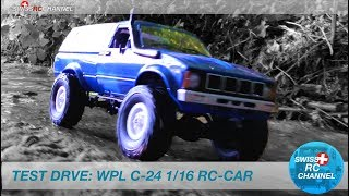 TEST DRIVE: WPL C-24 1/16 RC CAR