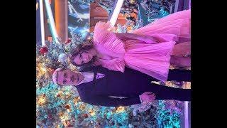 ✅  Яна Рудковская дала поносить свое платье сестре Димы Билана