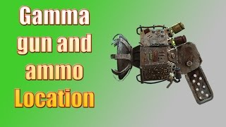 Fallout 4 Guide: How to get a Gamma Gun! Radiation weapon location!