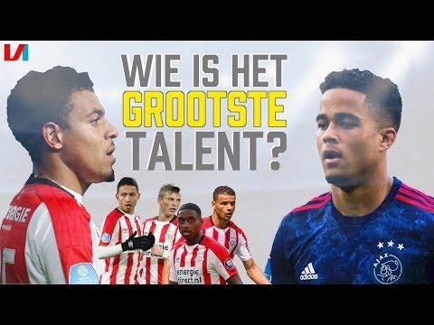 5 Toptalenten van PSV: Donyell Malen nu al Beter Dan Kluivert!