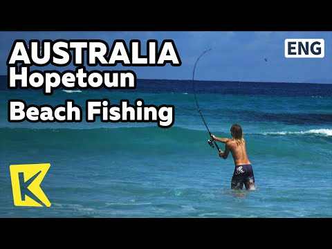 【K】Australia Travel-Hopetoun[호주 여행-호프툰]해변에서 즐기는 낚시/Beach/Fishing/Sea/Barbecue