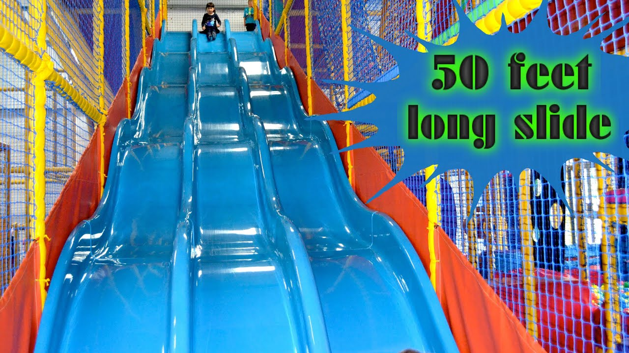 Indoor Playground Family Fun for Kids Play Center Slides ...