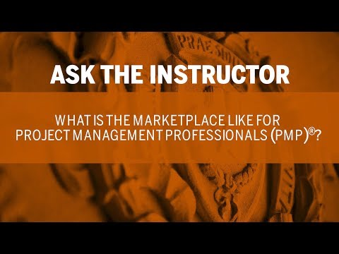 Ask The Instructor What Is The Marketplace Like For Project Management Professionals
