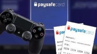 PaySafe Card(geht 2020!)auf Ps4 ohne Personalausweis einlösen!!