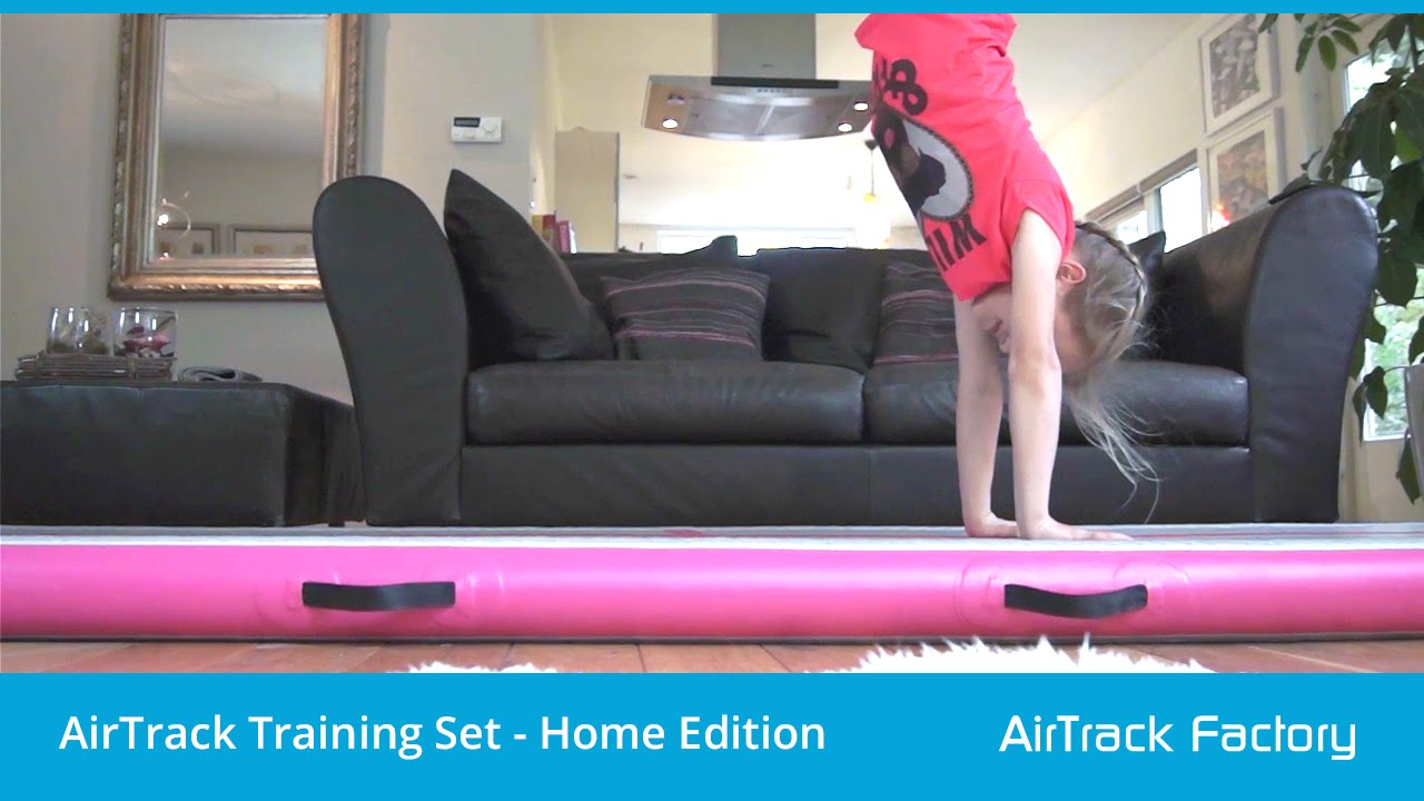 Airtrack Training Set Quot Home Edition Quot Youtube