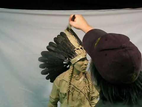 Feathered Headdress Nearly Finished