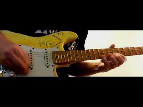 Yngwie Malmsteen - Forever One Guitar solo cover
