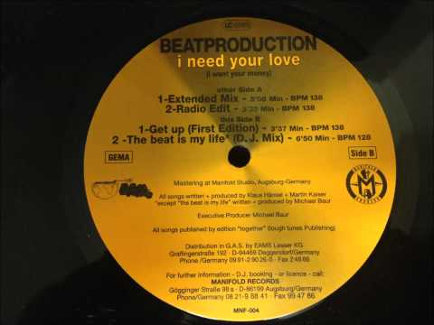 Beatproduction i need your love