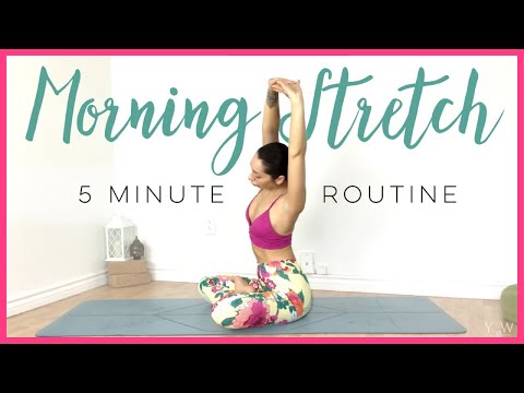 5 Minute Yoga Stretch ( Morning Yoga For BEGINNERS In Just 5 MINUTES! )