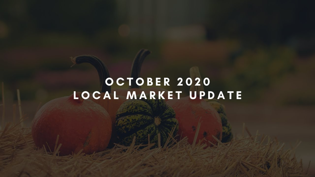 October 2020 Local Market Update