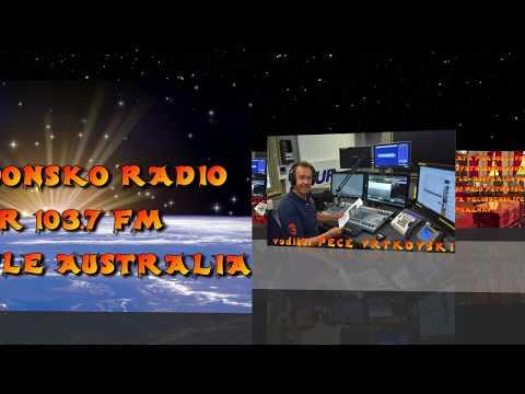 MAKEDONSKO RADIO 2NUR 103.7 FM NEWCASTLE AUSTRALIA 07-04-2018