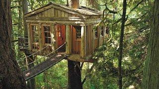 Домик на дереве(Видео-блог о дизайне, архитектуре и стиле. Идеи для тех кто обустраивает свой дом, квартиру, дачу, садовый..., 2014-08-14T21:22:16.000Z)