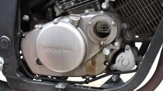 [자가정비] 코멧250 엔진오일 교체 [내정비카페] (Changeing the engine oil and filter in a GT250)
