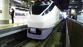 上野駅17番線発車メロディー 2コーラス 特急スーパーひたち23号いわき行き
