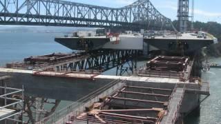 San Francisco Bay Bridge Skyway View