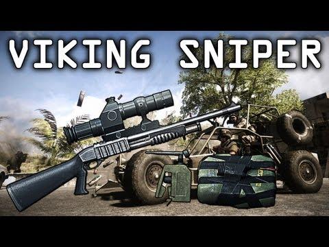 "Battlefield 3 - Viking Sniper & C4 ""Viking Commentary"""