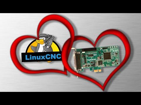 CNC Motion Control with LinuxCNC + Mesa FPGA Card