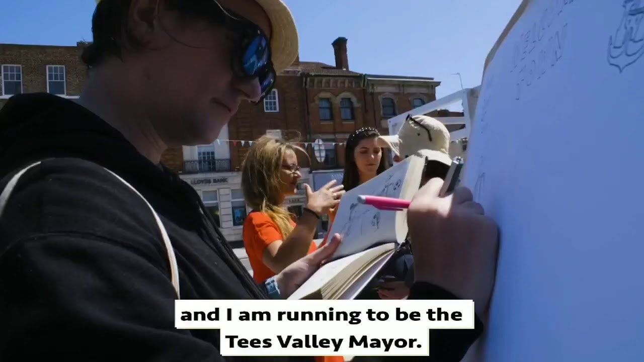 Jessie for Tees Valley Mayor - Let's do this!