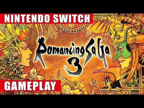 Romancing SaGa 3 Nintendo Switch Gameplay