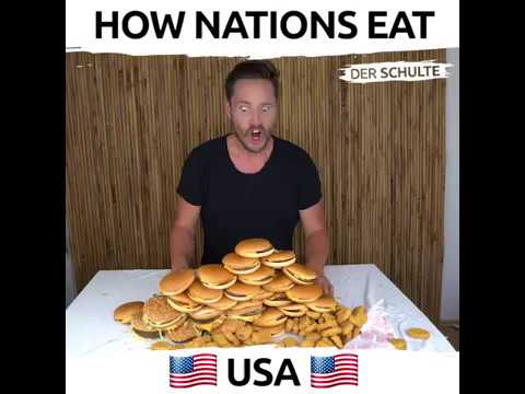 How Nations Eat