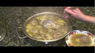 Meat Balls Stuffed W/potato   לפסח וראש השנה- להכין כדורי בשר ממולאים
