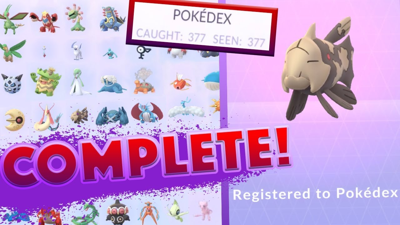 Pokemon Gen 6 Pokedex