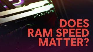 Does RAM Speed Matter?
