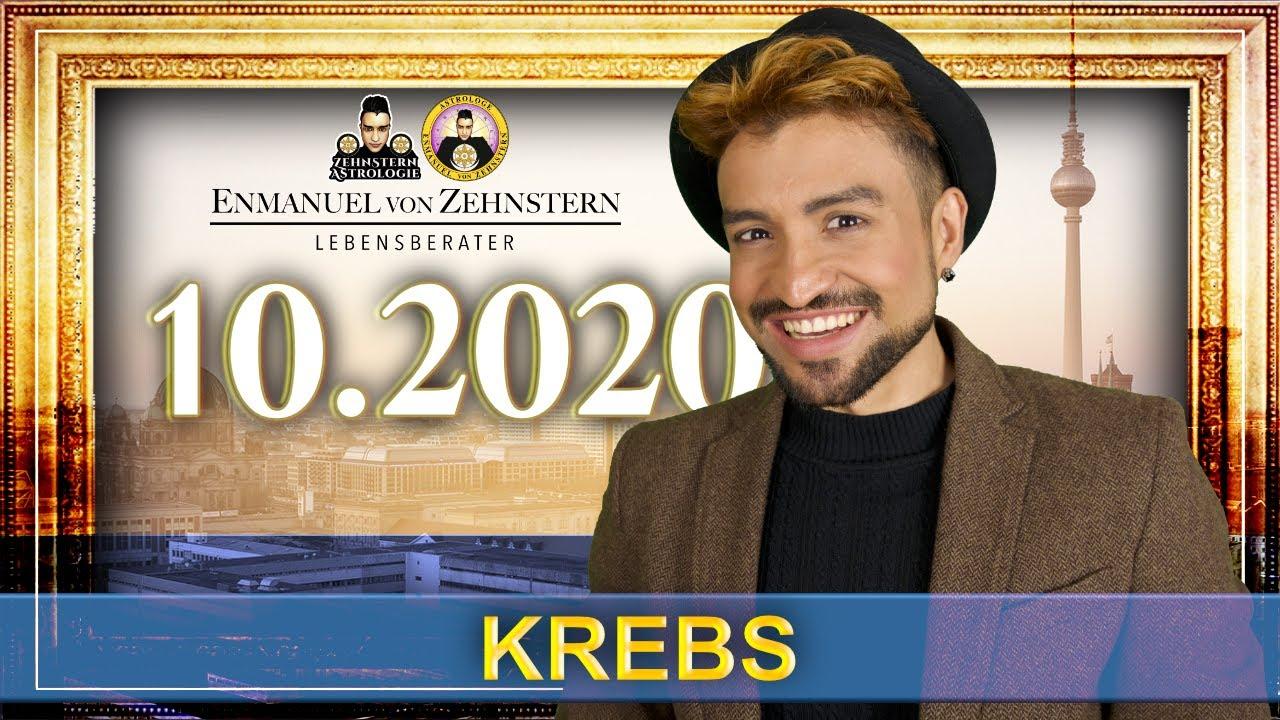 KREBS STERNZEICHEN UND ASZENDENT OKTOBER 2020   #ZehnsternAstrologie.com