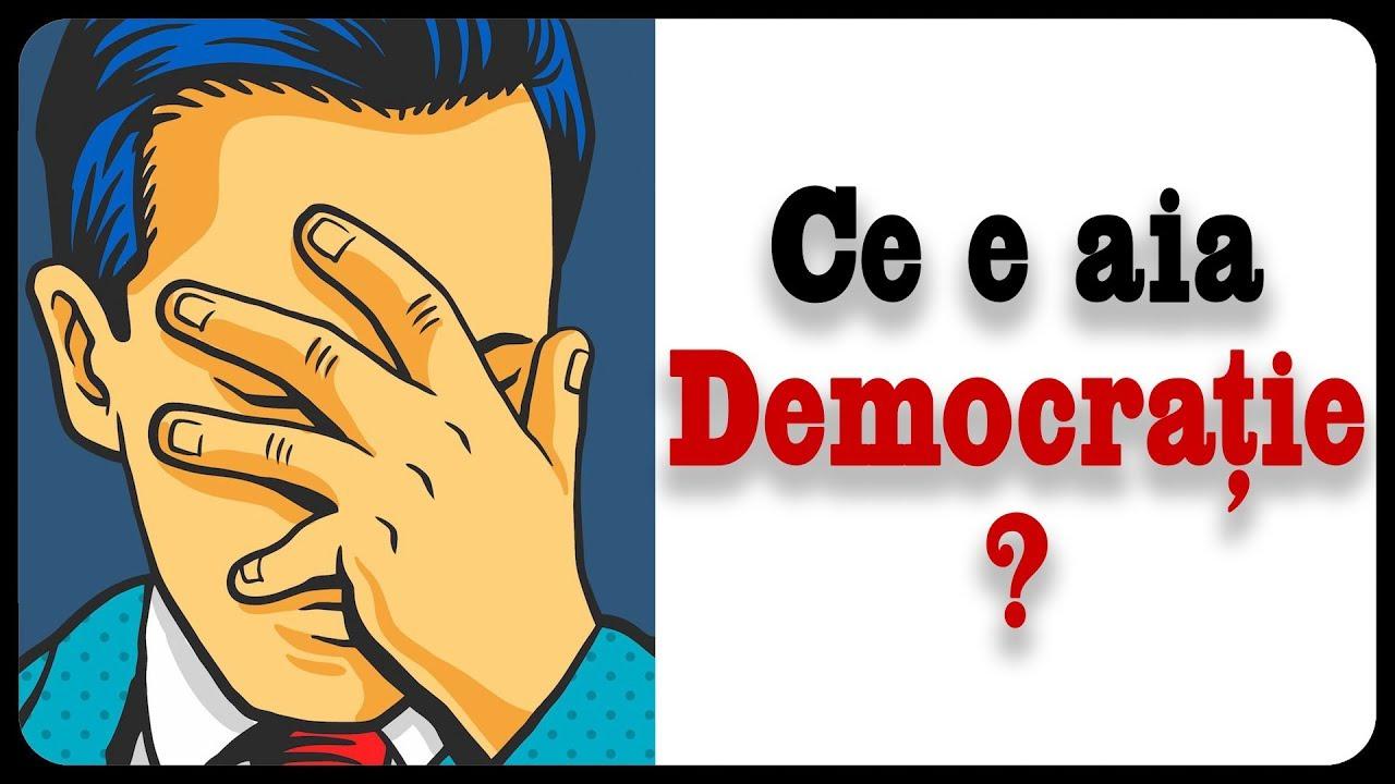 Ce e aia Democrație?