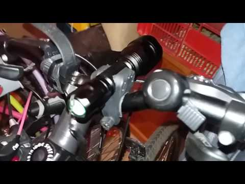 GEARBEST   Universal Bicycle Flashlight Mount Clip Clamp Bike Torch Holder Clip