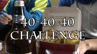 The 40-40-40 Challenge