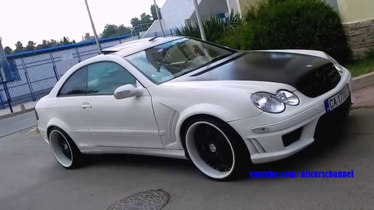 Tuned Mercedes Benz Clk C209 On Forged Wheels Youtube