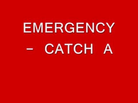 The New Monkey Backing Tune : Emergency - Catch A