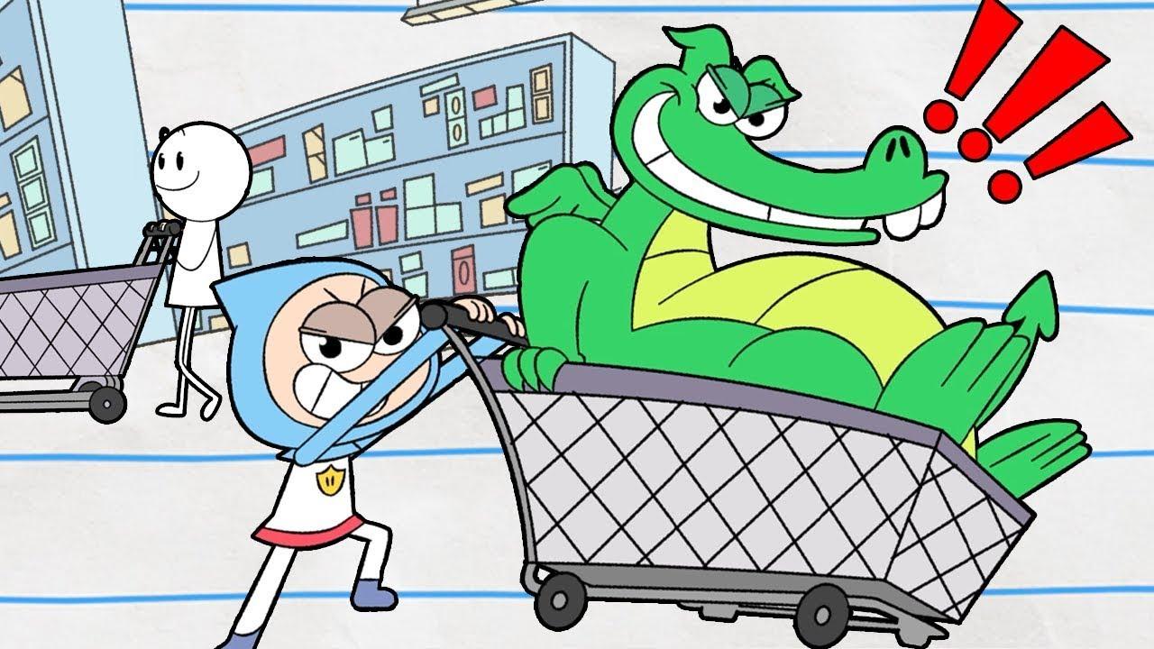 ¡Ir de compras! | Niño y dragón