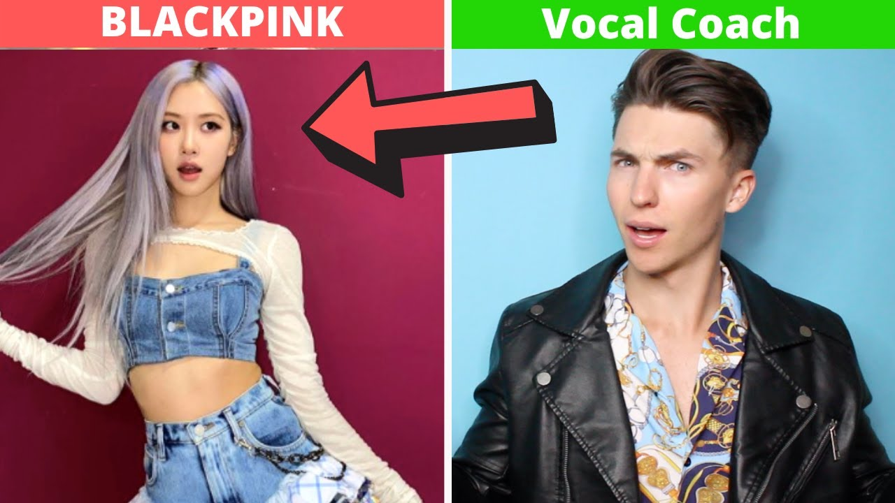 VOCAL COACH Justin Reacts to BLACKPINK - You Never Know