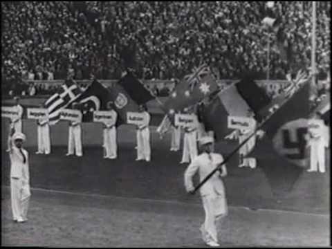 1936 Berlin Olympics Opening Ceremonies