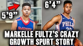 The Story Of Markelle Fultz's Crazy Growth Spurt