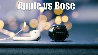 Apple Airpods vs Bose Soundsport Free: Best True Wireless Earbuds 2017